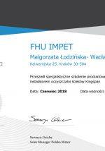 certyfikat-kingspan-2018