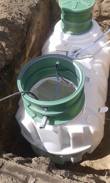Oczyszczalnia biologiczna zbiornik