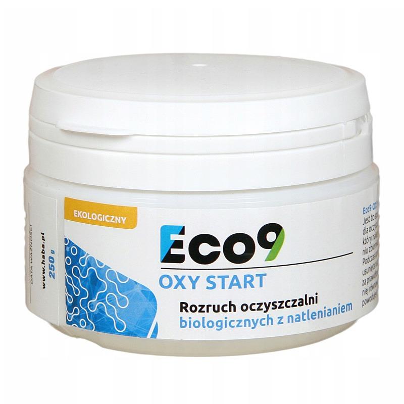 Bakterie do oczyszczalni tlenowych na start - Eco9 OXY START