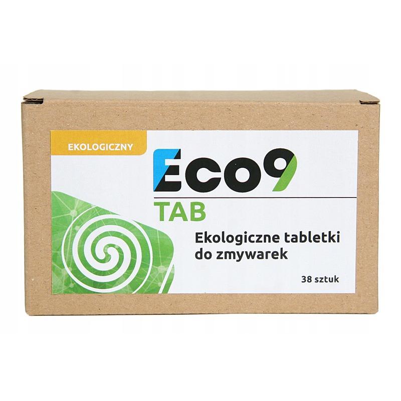 Ekologiczne tabletki do zmywarki - Eco9 TAB
