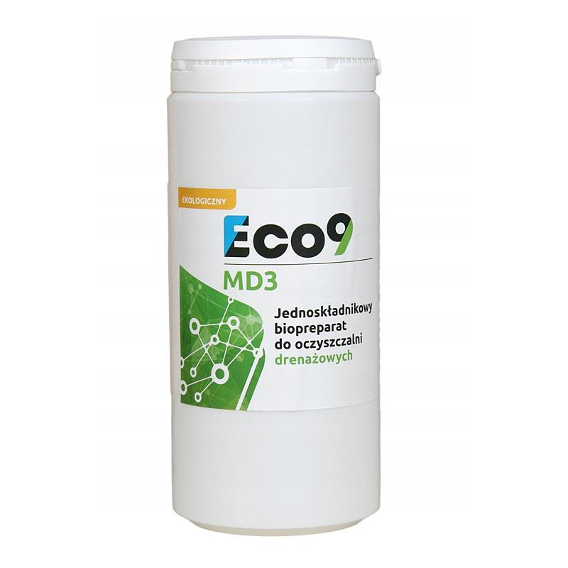 Preparat do oczyszczalni ścieków jednoskładnikowy - Eco9 MD3