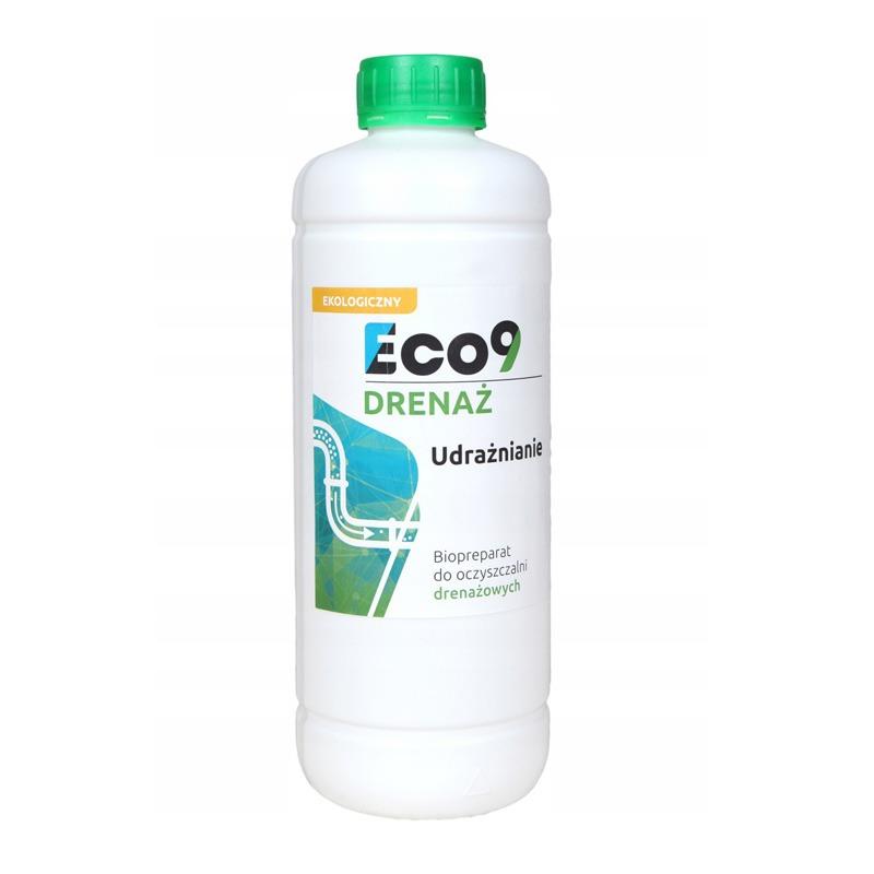 Preparat do udrażniania drenażu oczyszczalni - Eco9 DRENAŻ