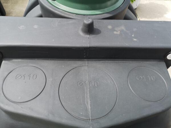 Wlot zbiornika 3000 L Dropwater